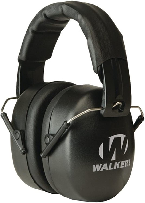 Walkers EXT Range Shooting Folding Muff, 34 NRR : Hunting Earmuffs : Clothing