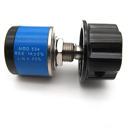 KUNPENG - Potenciómetro de eje # 534-1-1 1K 6.34mm AJUSTE PARA SWF Máquina de bordar Sunstar: Amazon.es: Hogar