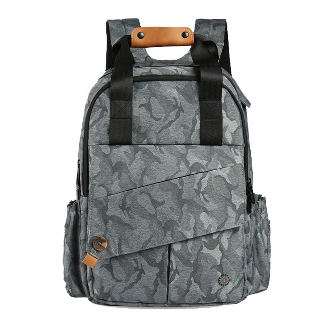 C-Xka 大容量のおむつバッグ多機能交換バッグおむつのバックパック (色 : B) B07G714PK2 B