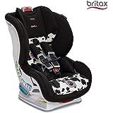 美版 Britax 宝得适 MARATHON ClickTight Convertible儿童安全座椅, COWMOOFLAGE 奶牛色(跨境自营)