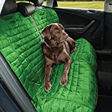 Kurgo Waterproof Loft Bench Seat Cover for Dogs, Green / Grey For Sale