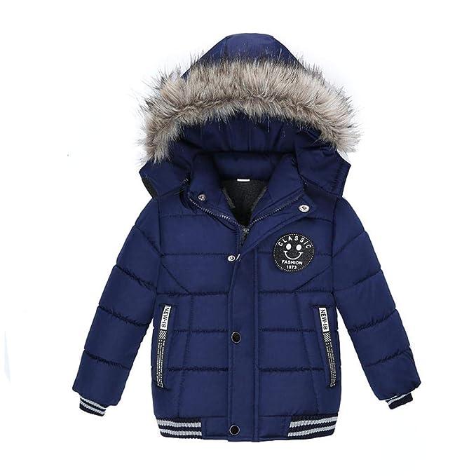 1c3f9fefa Zarupeng Abrigo cálido para niños