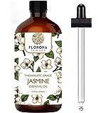 Florona Organic Essential Oil, 4 Oz Organic (Jasmine, 4 Oz)
