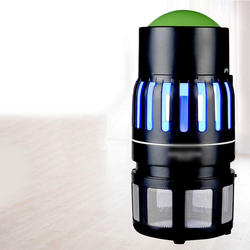 CAFUTY Fly And Insect Killer - 光触媒モスキートキラーFly Zapper Free UV物理的蚊ランプ (色 : 黒) B07S7C7F8J 黒