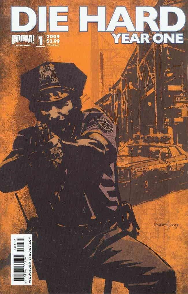 Die Hard: Year One #1C VF/NM ; Boom! comic book