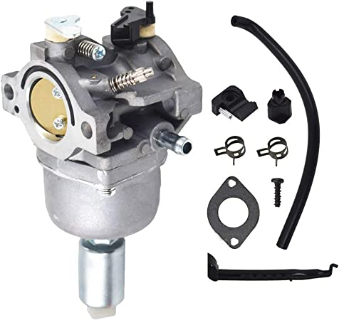 Amazon Com Carburetor Replacement For John Deere La105 Riding Mower Tractor 42 19 5hp Replacement For Briggs Stratton 13 5 Hp Engine 31f707 350777 14 Hp V Twin 808728 Carb 697203 795873 808891 Garden Outdoor