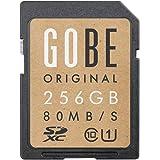 Gobe Original 256 Go SDHC 80 Mo/s UHS-1 SD Carte Mémoire