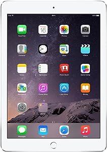 Apple iPad Air 2 MH2N2LL/A (64GB , Wi-Fi + 4G, Silver) NEWEST VERSION (Renewed)
