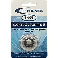 Philex PH-55 - Cuchillas compatibles Philips series 6000