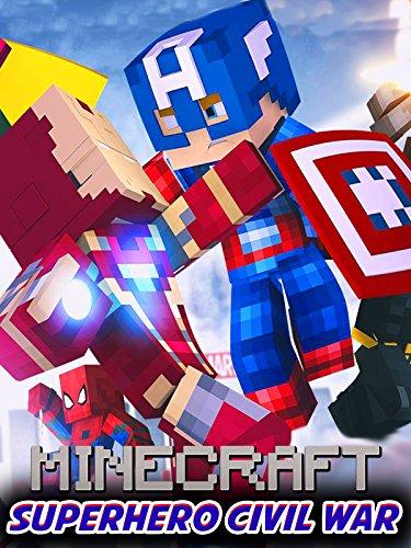 Clip: Superhero Civil War Minecraft]()