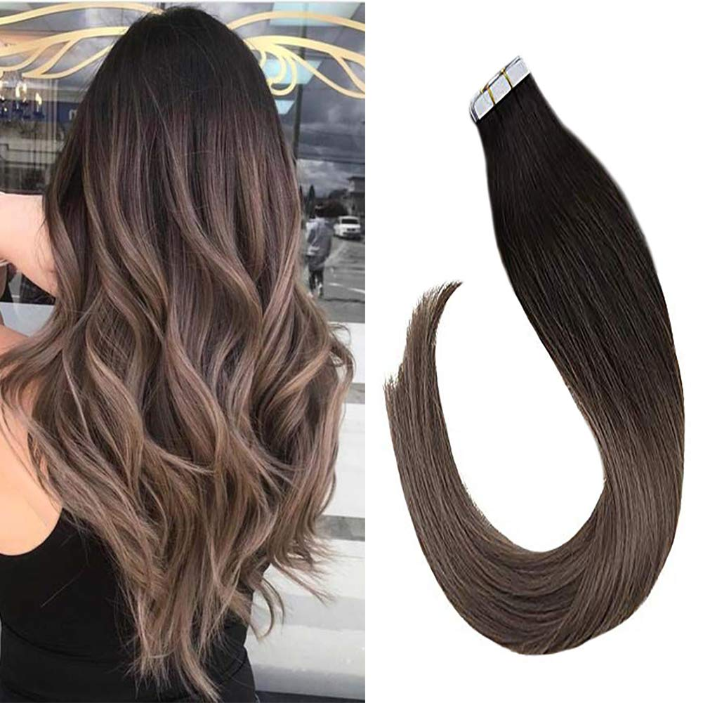 Amazon Com Vesunny 20 Dirty Blonde And Brown Hair Extensions