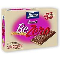 Tirma Snack Be-Zero Galleta Bañada En Chocolate Con Leche, Sin Azúcares Añadidos(6 Packs X 17,5 G) 105 g
