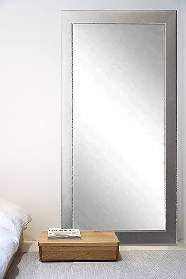 Amazon.com: BrandtWorks BM012TS Mod Euro Silver Floor Mirror, 66 x ...