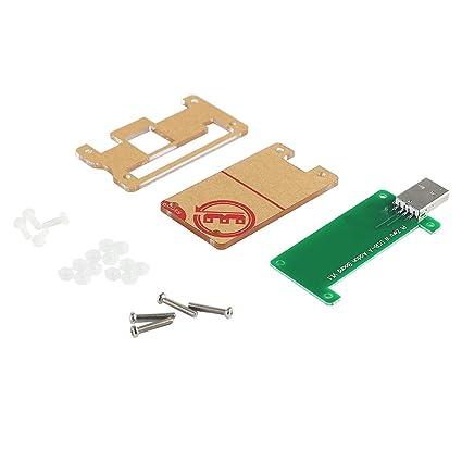 Pi Zero//Zero W USB-A Addon Board with Protective Case Parts for Raspberry