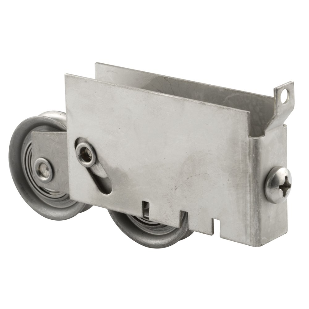 Prime-Line Products D 1862-SS Door Tandem Roller Assembly with 1-1/2-Inch Stainless Steel Ball Bearing