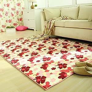 Amazon Com Ustide Meomory Foam Area Rug For Living Room