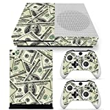 Chickwin Xbox One S Skin Vinyl Decal Full Body Cover Sticker For Microsoft Xbox One S Console and 2 Controller Skins (US Dollar)