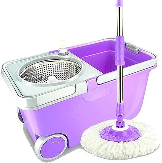 Fregonas Spinning Mop Mop Bucket Set Mop Herramienta de Limpieza ...