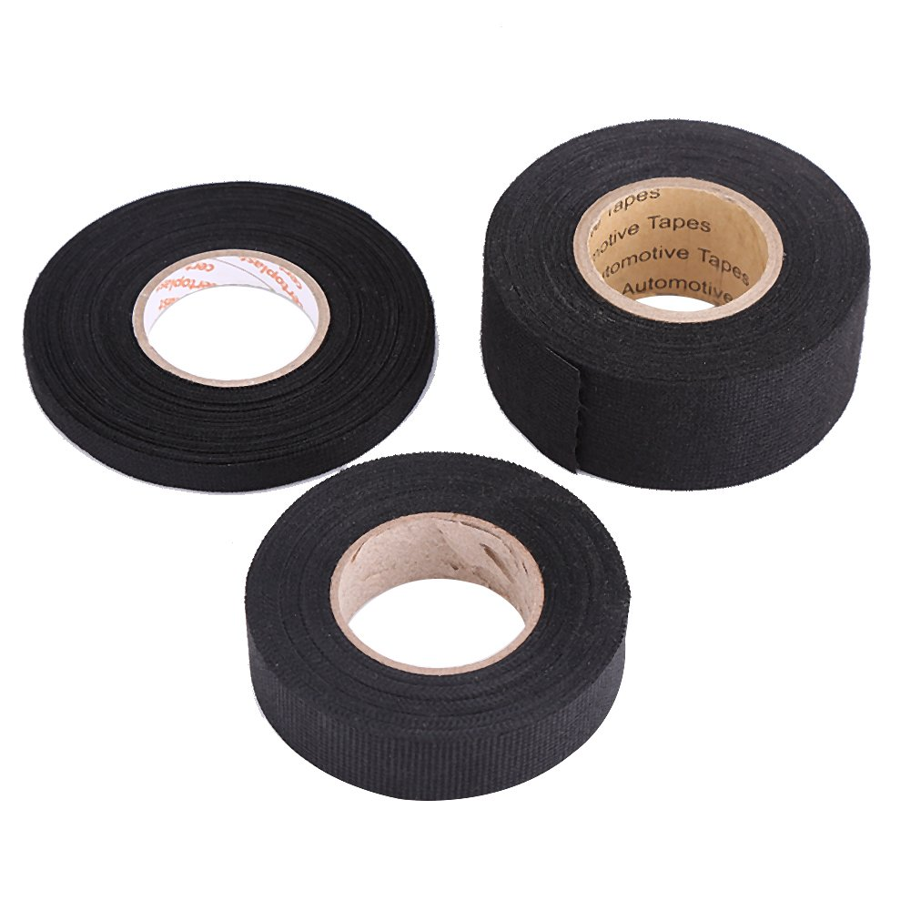 Insulation Tape Black High Temperature Resistant Automotive Wiring Harnesses Harness Car Electrical Self Adhesive Anti