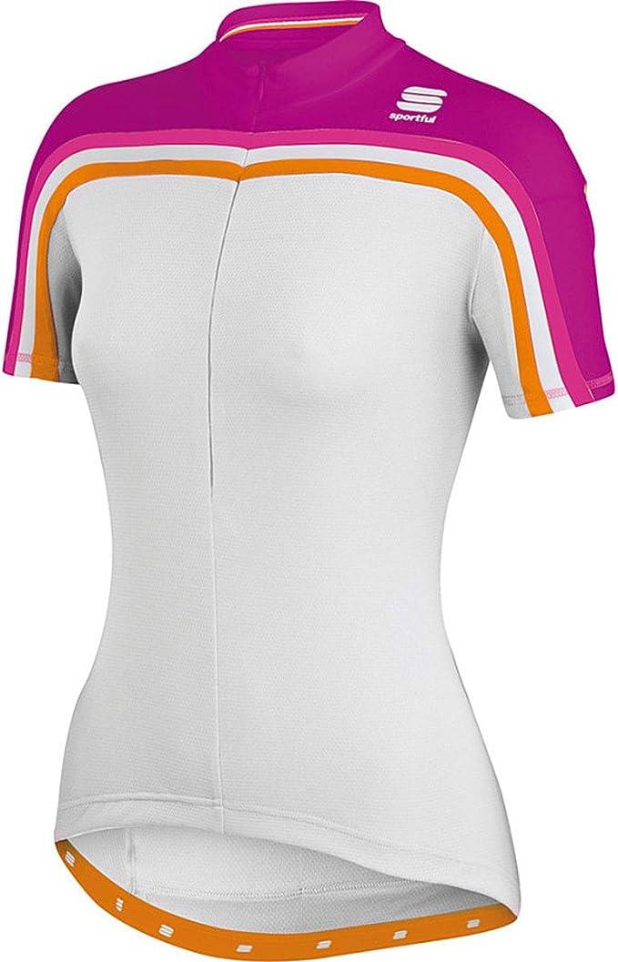 Sportful Allure Short Sleeve Womens Cycling Jersey Black