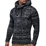 Muranba Clearance Men's Autumn Winter Pullover Knitted Coat...