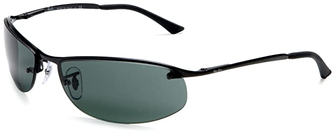 86b976e2153 Ray-Ban Sunglasses TOP BAR (RB 3179 006 71 63)  Amazon.co.uk  Clothing
