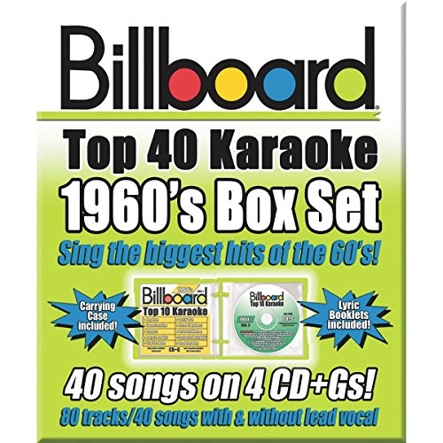 Party TYME Karaoke CD+G Billboards 60's Box Set (Set of 4) by Partytime