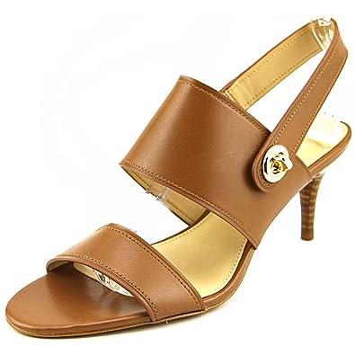 163584bde Coach Marla Two-Piece Turnlock Dress Sandals Cinnamon (7.5)
