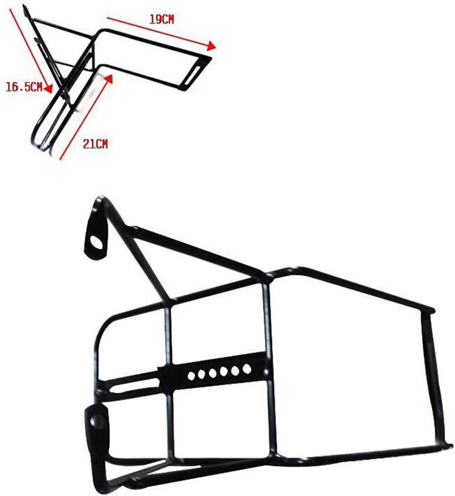 VORCOOL Bike Front Luggage Rack Bicycle Carrier Panniers Shelf Cycling Bike Stand Accessories Black
