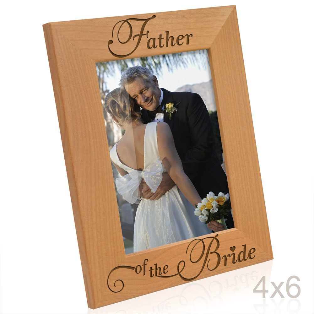 Amazoncom Kate Posh Father Of The Bride Picture Frame 4x6