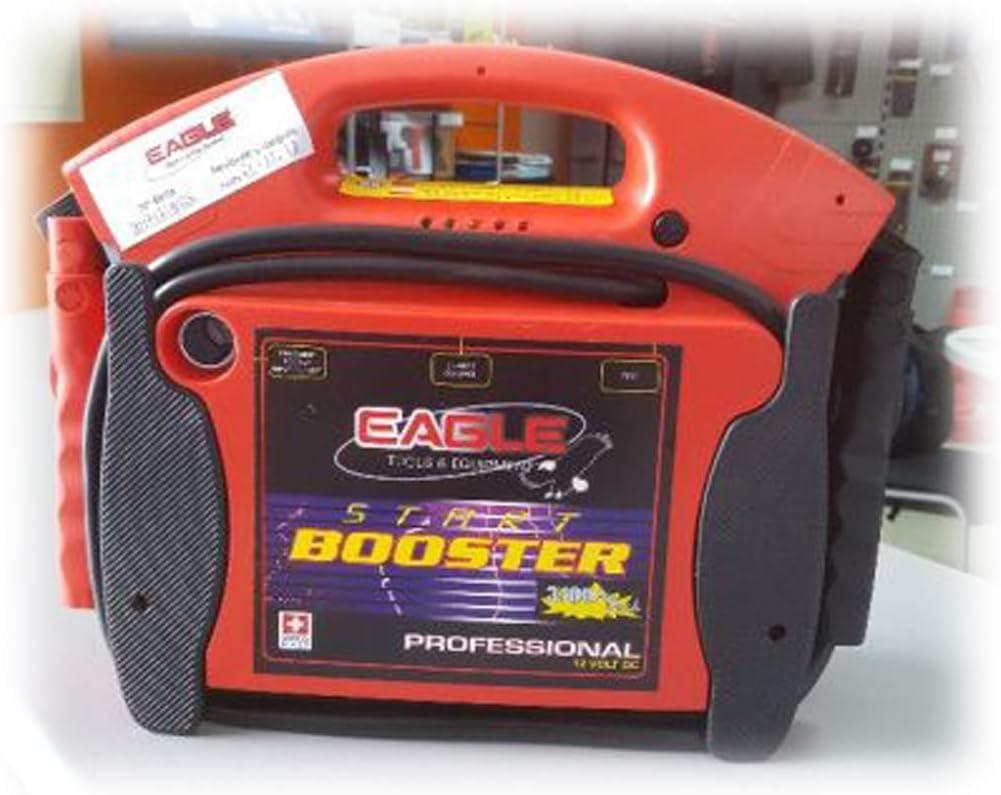 SIO Arrancador de Motores Bater/ías Profesional 12V 3100A