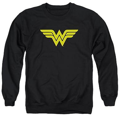 DC Comics Mens Wonder Woman Logo Sweater