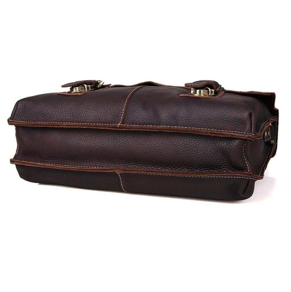 ... SHISHANG Herren Modische Frühling Sommer Herren Taschen Casual Taschen  Retro Modische Herren Portable Leder Taschen Geschäft ... 03a3ff27c9