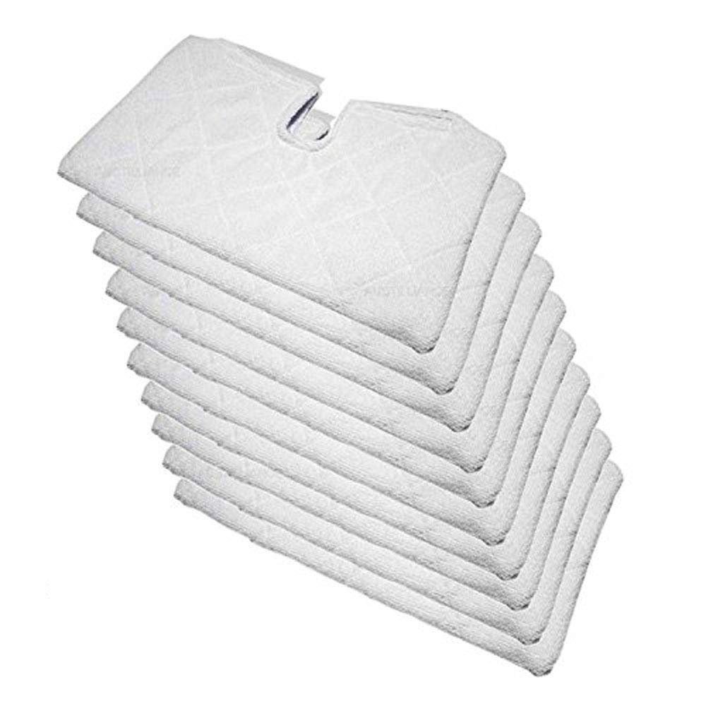 FirstDecor 10PCS Accessories For Shark Euro Pro S3501 S3601 S3901 Pocket Steam Mop Compatible Europro Microfiber Replacement Pocket Pads TBDFG025