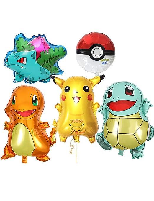 WSJQQ 1 Unidades De Dibujos Animados Pikachu Pokemon Go ...