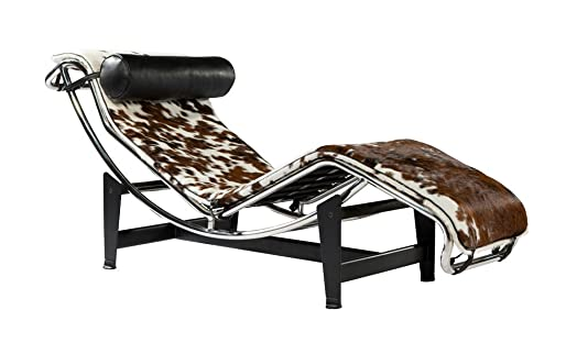 Le Corbusier LC4 Chaise Longue Cow Hide: Amazon.co.uk: Kitchen & Home
