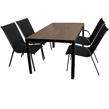 5 piezas. Jardín Terraza - Muebles de Jardín Conjunto de muebles ...