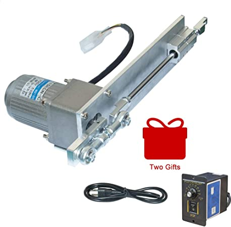 Reciprocating Linear Actuator Motor,DIY driver cycle Motor 12V 55rpm Stroke 70mm