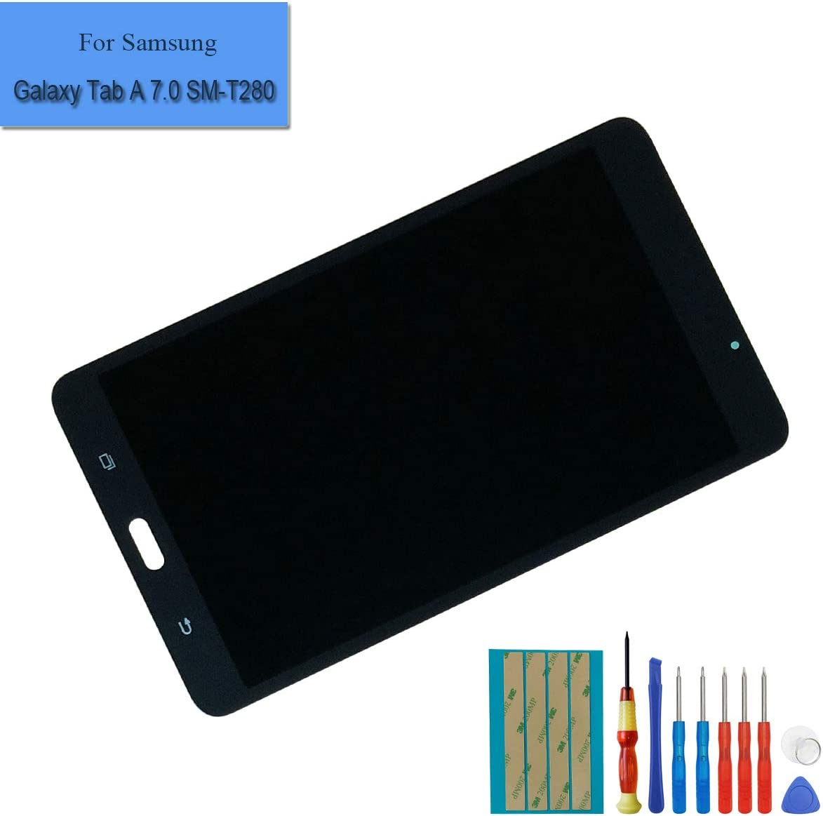 For Galaxy Tab A 7.0 SM-T280 T280 wifi LCD Screen Digitizer Touch W US