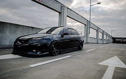 Racingbees 2004-2008 Acura TSX Mugen Style Window Visor 2005 2006 2007