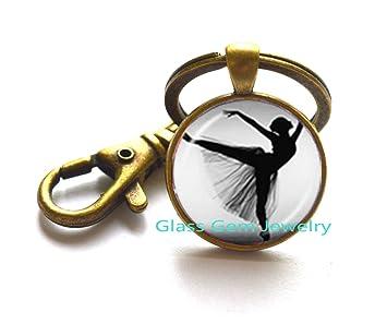 Dancing ballerina bailarina llavero Ballet danza niña foto ...