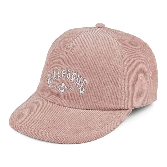 Billabong Gorra de béisbol Re-Issue Cord Rosa - Ajustable: Amazon ...