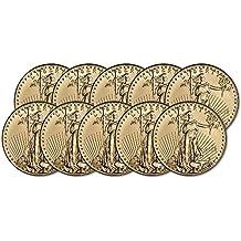 2018 American Gold Eagle (1 oz) Ten Coins Brilliant Uncirculated