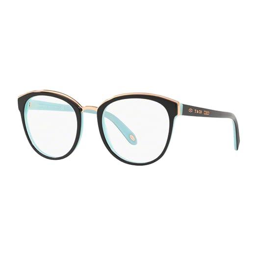 0410dc79ea9 Tiffany 1837 TF 2162 BLACK TURQUOISE 53 20 145 women eyewear frame ...
