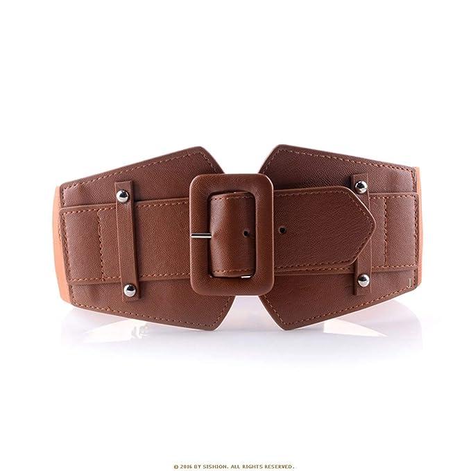 compras Venta de liquidación 2019 hombre Cinturones anchos vintage para mujeres Cinturones de fiesta ...
