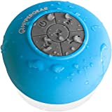 HyperGear H2O Water Resistant Wireless Indoor/Outdoor HD Speaker, Built-In Microphone, Bluetooth 3.0 Technology, Hands-Free Calling, 6 Hours playtime for Apple & Android Smartphones & Devices (BLUE)