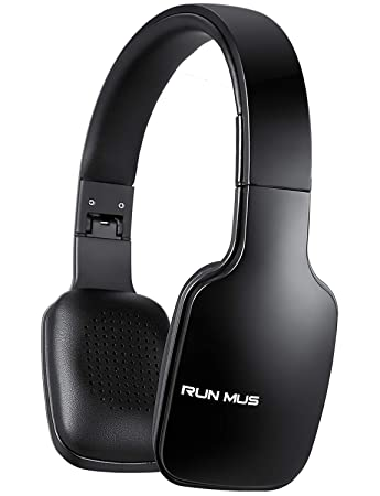 Buy Runmus Bluetooth Headphones Wireless Headphones Ultra Light On Ear Bluetooth Headset Foldable Bluetooth Headphones With Built In Mic 20 24 Hrs Playing Time Wired Mode For Pc Tv Cellphones Online At Low Prices In India Amazon In