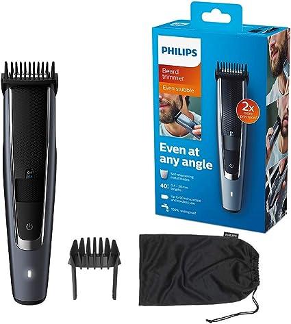Philips BEARDTRIMMER Series 5000 BT5502/13 depiladora para la ...