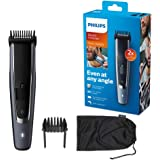 Philips BT5502/13 Series 5000 Beard and Stubble Trimmer with Self-Sharpening Metal Blades