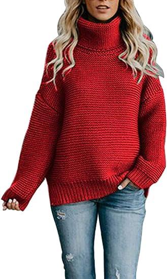 KINGFEN Chunky Knit Sweater
